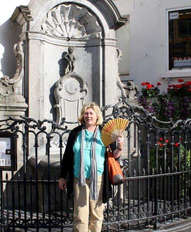 Der Safran-Fächer in Brüssel
