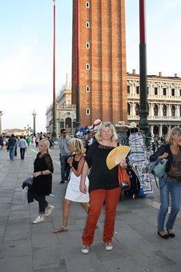 Der Safran-Fächer in Venedig