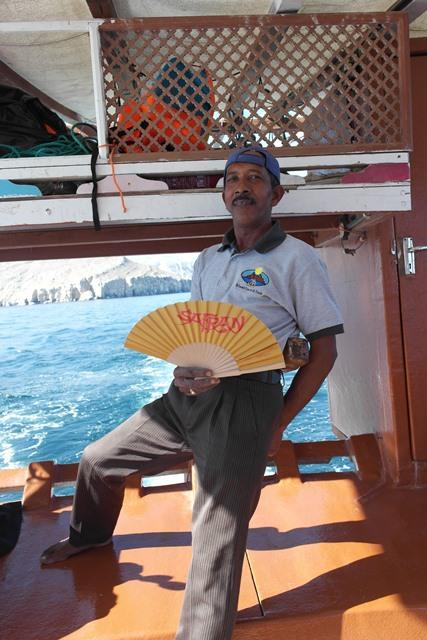 Der SAFRAN Fächer im Oman