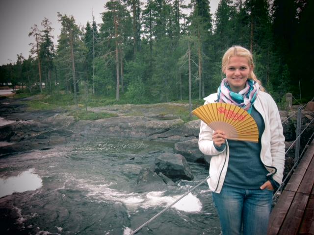 Der SAFRAN Fächer in Lappland