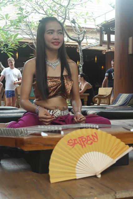 Der Safran Fächer in Thailand