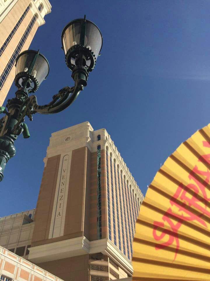 Der Safran Fächer in Las_Vegas